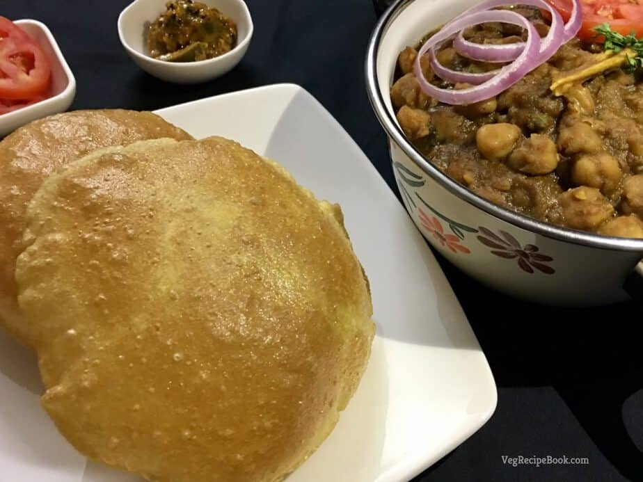 poori recipe | puri recipe | How to make perfect, puffy and Soft pooris