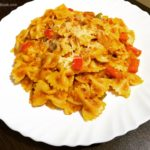 red sauce pasta recipe | pasta in red sauce recipe | veg pasta recipe