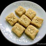 meeng burfi recipe | meeng khoya burfi recipe | meeng katli recipe | khoya burfi recipe