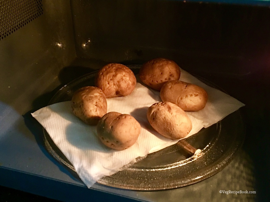 boiled potatoes in microwave | how to boil potatoes in a microwave recipe