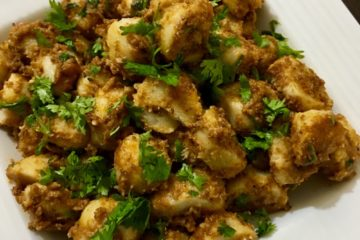 arbi masala dry recipe for navratri fast | arbi sabzi recipe | colocasia dry masala recipe