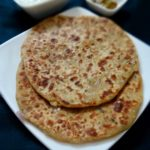 aloo pyaaz paratha recipe | flatbread stuffed with potato and onions | how to make aloo paratha recipe
