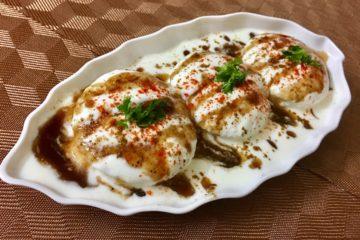 bread dahi vada recipe | instant dahi vada recipe | bread dahi bhalle recipe