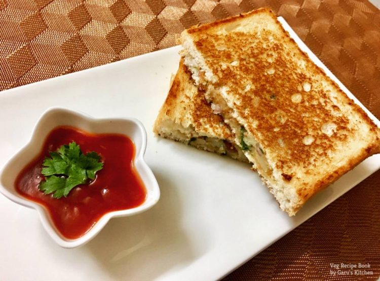 Aloo Masala Sandwich Recipe | Aloo Sandwich Recipe | how to make Aloo Sandwich