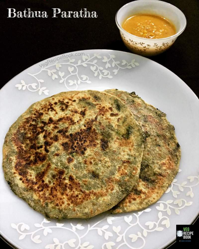 Bathua-Paratha-Recipe-Bathua-Aloo-Paratha-Recipe-stuffed-Bathua-Paratha